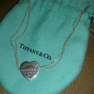 Like new Tiffany & Co double chain Bracelet